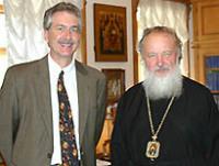 Председатель Отдела внешних церковных связей принял Посла США в России Уильяма Бернса