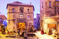 Святейший Патриарх Алексий посетил выставку 'Вертеп. Итальянская рождественская традиция'