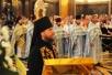 Божественная литургия в праздник Казанской иконы Божией Матери в Храме Христа Спасителя. Хиротония архимандрита Лазаря (Гуркина) во епископа Нарвского.