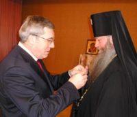 Архиепископ Новосибирский Тихон награжден памятной медалью