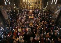 В Свято-Троицком монастыре в Джорданвилле совершено отпевание и погребение митрополита Лавра