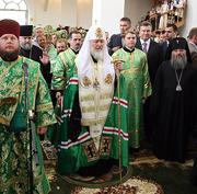 Слово Святейшего Патриарха Московского и всея Руси Кирилла в Никольском Васильевском монастыре Донецкой епархии
