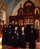 Митрополит Лавр посетил русский Троицкий собор и Миссию Московского Патриархата в Иерусалиме