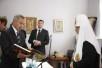 Патриарший визит в Белоруссию. День второй. Посещение Института теологии Белорусского государственного университета.