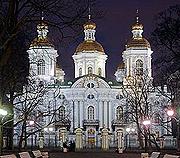 После реставрации открылся верхний храм Николо-Богоявленского морского собора Санкт-Петербурга