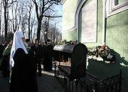 Святейший Патриарх Кирилл посетил храмы Санкт-Петербурга