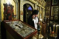 В Патриаршей рабочей резиденции совершена панихида по новопреставленному Святейшему Патриарху Алексию