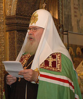 Слово Святейшего Патриарха Алексия после богослужения и молебна в Успенском соборе