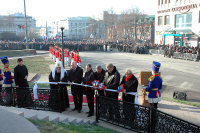 Святейший Патриарх Алексий принял участие в открытии памятника Минину и Пожарскому в Нижнем Новгороде