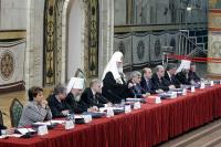 Слово Святейшего Патриарха Алексия на Всероссийской конференции 'Национальная сфера ответственности: власть, Церковь, бизнес, общество — против наркотиков'