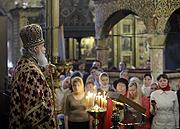 Патриаршее слово в Неделю жен-мироносиц в Успенском соборе Московского Кремля