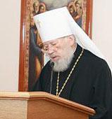 Митрополит Киевский Владимир заявил о своем желании 'предстать перед Богом 121-м Митрополитом Киевским'