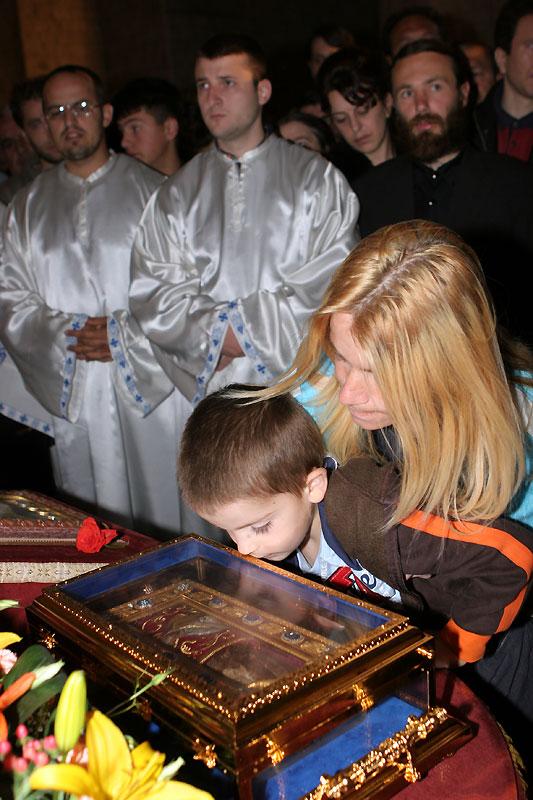 Привезение в Россию десницы св. Иоанна Предтечи