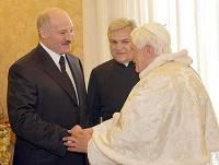 Состоялась встреча между Папой Римским Бенедиктом XVI и Президентом Белоруссии Александром Лукашенко