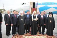 Завершился визит Святейшего Патриарха Кирилла в Ростовскую и Новочеркасскую епархию
