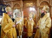 Московское духовенство поздравило епископа Красногорского Савву с 50-летием со дня рождения