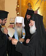 Митрополит Минский Филарет награжден орденом Александрийской Православной Церкви