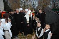 Патриарший визит в Молдову: посещение церковного детского дома 'Праведный Иосиф'