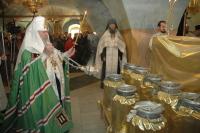 Святейший Патриарх Алексий совершил молебен на начало Чина мироварения