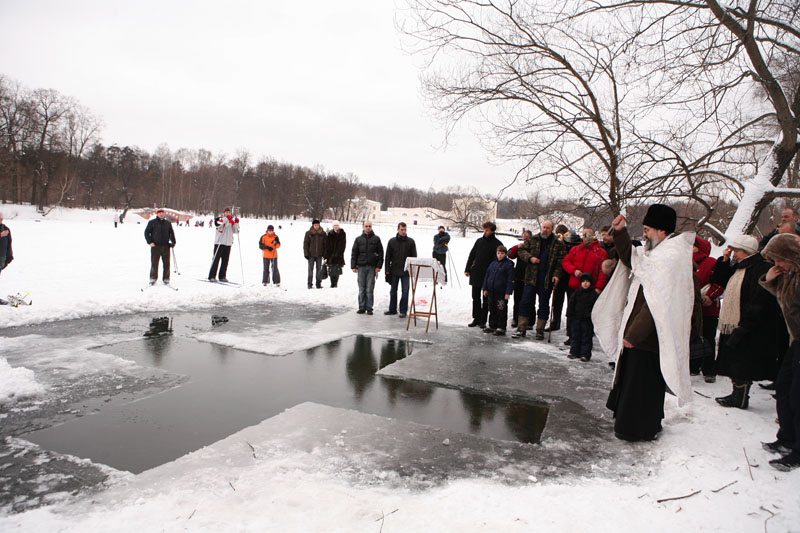 Крещенское купание в столице