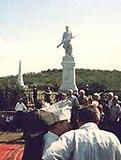 В Крыму состоялось перезахоронение воинов, павших в Альминском сражении во время Крымской войны