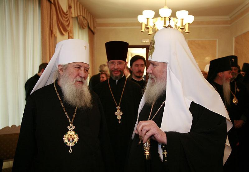 20 февраля 2008 г., Москва. Открытие Всемирного русского народного собора.