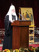 Встреча Святейшего Патриарха Кирилла с представителями общественности Архангельска. Ответы на вопросы участников.