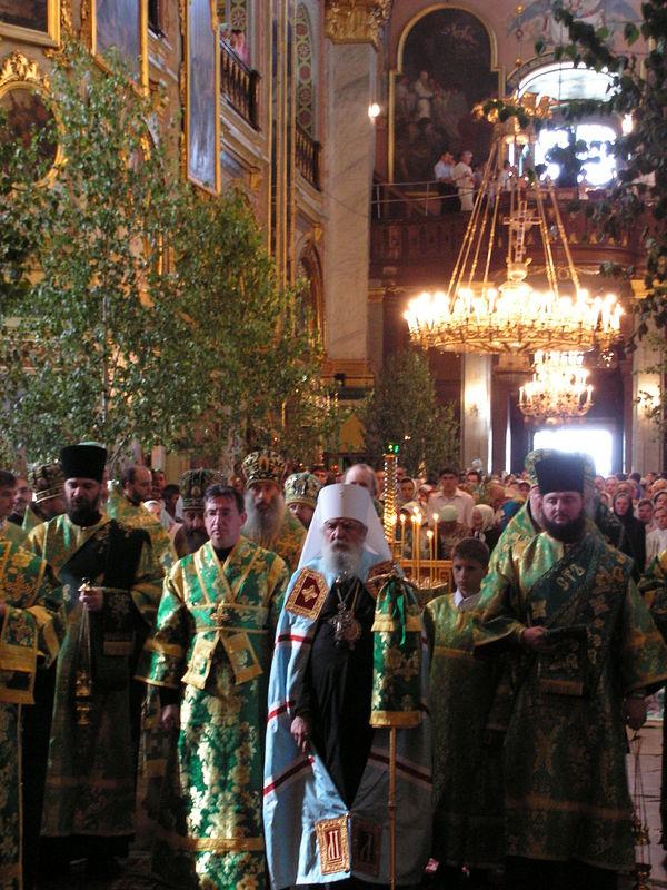 Май 2007 г., Украина. В Почаевской лавре (фото сайта Православие.ru).