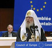 Предстоятель Русской Православной Церкви выступил перед членами Парламентской ассамблеи Совета Европы