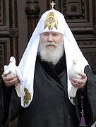 Слово Святейшего Патриарха Алексия после литургии в Великую Субботу и праздник Благовещения Пресвятой Богородицы