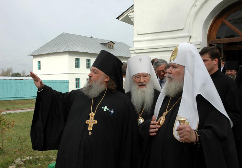 Патриарший визит в Бобренев монастырь в Коломне