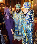 В Казанском кафедральном соборе Петербурга молитвенно отметили престольный праздник