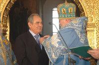 Святейший Патриарх Алексий вручил церковные награды Президенту Татарстана и мэру Казани