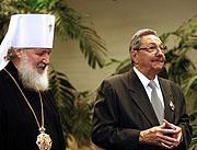 Митрополит Смоленский и Калининградский Кирилл: 'Фидель сказал: 'Я буду комиссаром этой стройки''