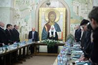 Святейший Патриарх Кирилл возглавил XX заседание Наблюдательного, Попечительского и Общественного советов по изданию «Православной энциклопедии»