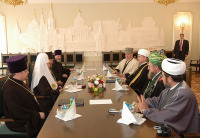 Выступление Святейшего Патриарха Алексия на встрече с лидерами мусульманских организаций