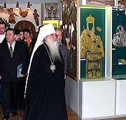 В музее Института Искусствоведения Академии наук Белоруссии открылась выставка 'Искусство и Православие'