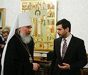 Митрополит Калужский Климент принял участие во встрече клуба друзей журнала 'Фома'