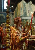 Патриаршее служение в праздник святых равноапостольных Кирилла и Мефодия