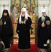 Святейший Патриарх Кирилл совершил молебен в Свято-Покровском соборе Витебска