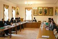 Первое заседание Комиссии по делам старообрядных приходов и по взаимодействию со старообрядчеством
