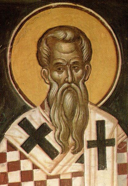 Св.Андрей Критский. Фреска XVII в. Москва
