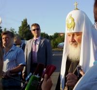 По прилете в Москву Святейший Патриарх Московский и всея Руси Кирилл рассказал о своих впечатлениях от визита на Украину