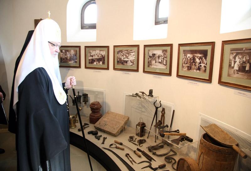 Патриарший визит на Валаам. День второй. Открытие музея имени Святейшего Патриарха Алексия II.