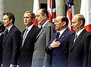 На саммите G8 Владимир Путин передал коллегам обращение религиозных лидеров мира