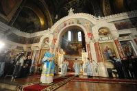 В праздник Покрова Пресвятой Богородицы Предстоятель Русской Церкви совершил Божественную литургию в Вознесенском соборе Новочеркасска