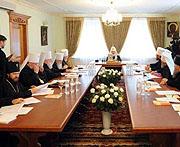 ЖУРНАЛЫ заседания Священного Синода от 27 июля 2009 года