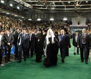 Предстоятель Русской Церкви встретился с молодежью Нижегородской области