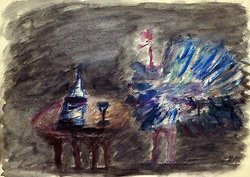 ╚Подражание Малевичу (чёрный квадрат)╩ (1984)