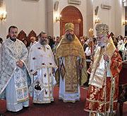 Представитель Русской Православной Церкви принял участие в торжествах по случаю престольного праздника Свято-Михайловского собора г. Латтакия